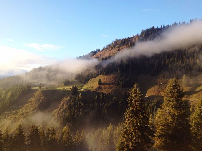 🗻 Mountains Autumn Sunset Brightcolors Nature