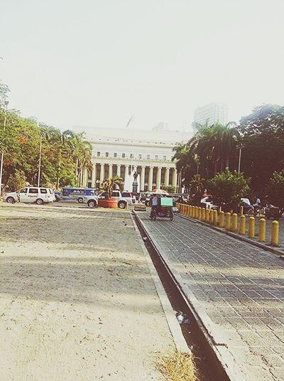 Everyday face of Manila.