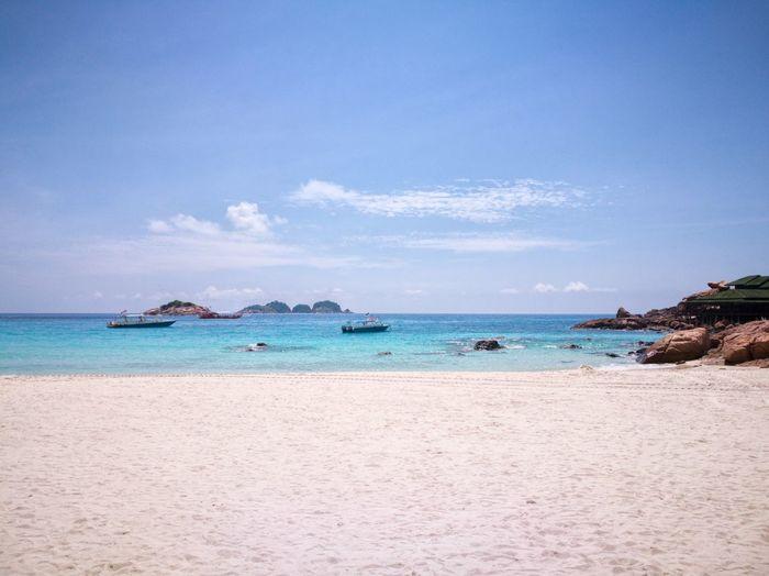 EyeEm Selects Beach Sand Beach View Sand & Sea Blue Sky Blue Sea Pulau Redang Redang Island