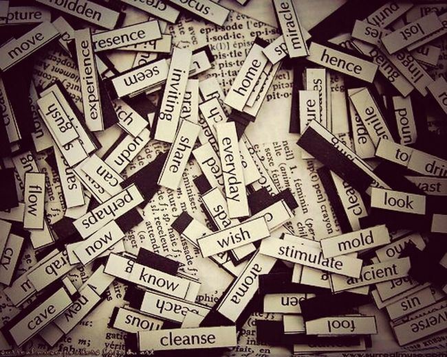 Photo Art Words Alphabetography Tipography