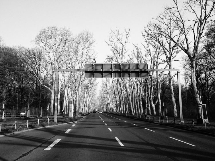 On The Road EyeEm Best Shots - Black + White EyeEm Bnw Great View Vanishing Point