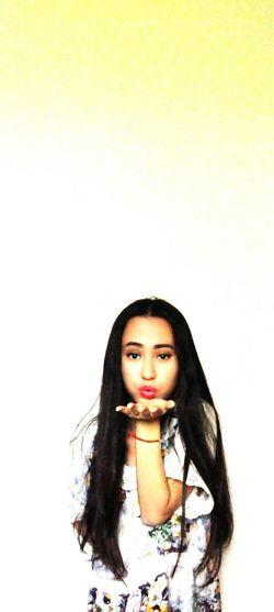 First Eyeem Photo Self Portrait Girl Color Portrait