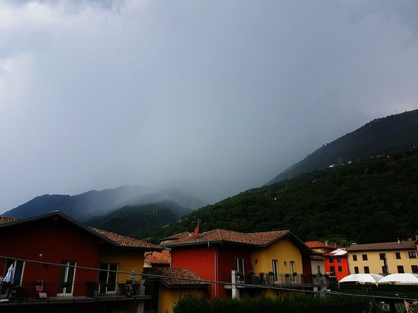 Thunderstorm Mountains And Sky Mountainrange Rainy Days Comer See Italy🇮🇹 Italy Italy❤️ Oudoors Night Photography First Eyeem Photo No People Samsung Galaxy S7 Samsungphotography Beauty In Nature Sorico Blacksky