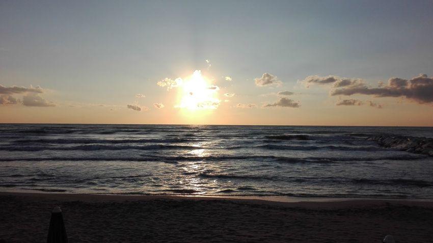 Water Wave Sea Galaxy Sunset Beach Horizon Low Tide Beauty Backgrounds