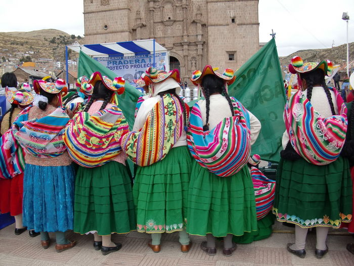 #anden #culture #inca #peruvian #Perú #puno #tourism #travel Art And Craft Cultures Multi Colored Real People Tradition Women Press For Progress