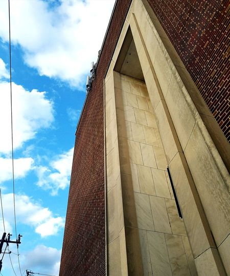 Architecture Sky Cloud - Sky No People History Symbol Low Angle View Building Exterior Business Finance And Industry Day Outdoors
