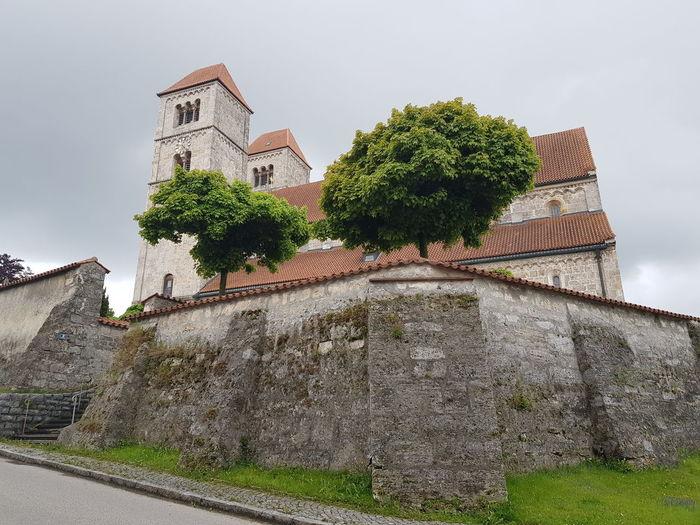 Church Grey Sky