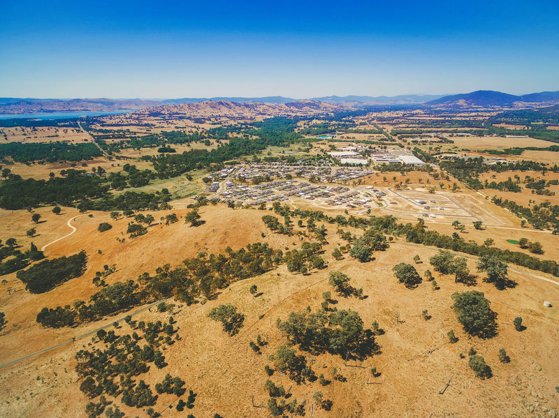 Aerial view of small rural settlement in Australia Aerial Shot Australia Australian Landscape Drone  Rural Area Landscape Aerial View Arid Climate Beauty In Nature Clear Sky Day Drone Photography Killara Landscape Nature No People Outdoors Remote Rural Area Scenics Sky Tranquil Scene Tranquility Travel Destinations