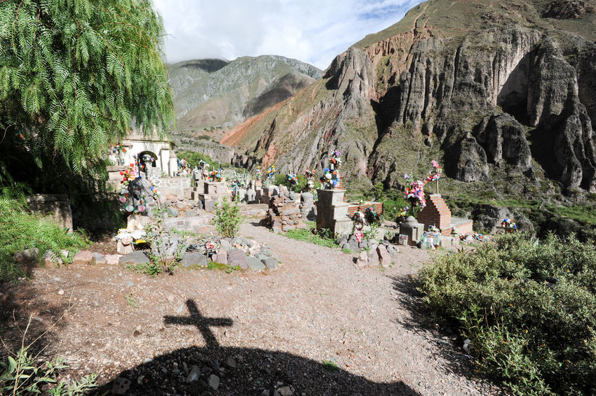 Andes Cross Argentina Cementery Cristianity Dead Indigenos Iruya Mountain