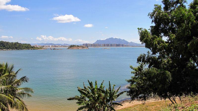 Ilha Do Frade MestreAlvaro Beach Day Mountain Nature No People Sand Sea Sky Tranquility Tree Water