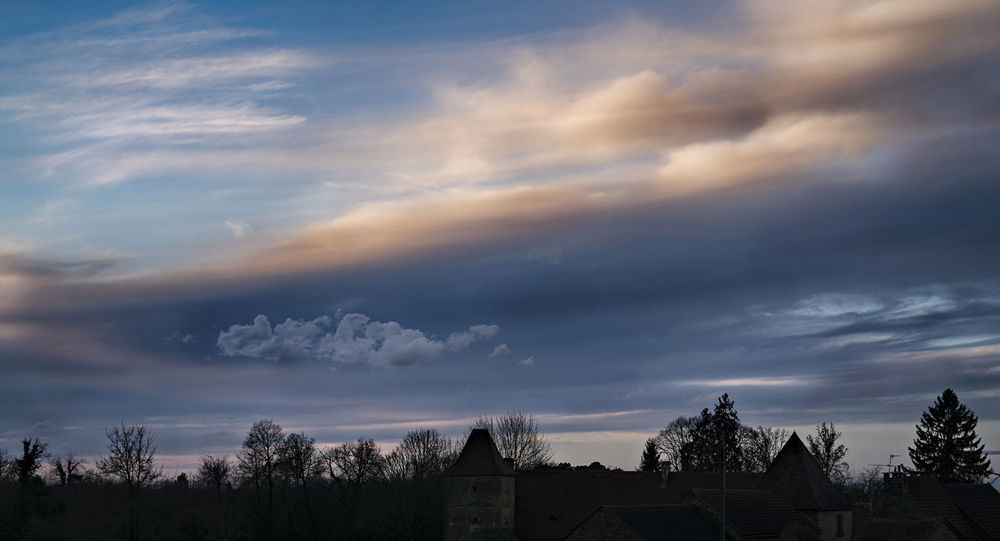 sea cloud Cloud Clouds And Sky Countryside Day Forest Landscape Outdoors Sky Sunset