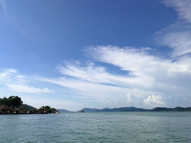 Sea Water Blue Sky Cloud - Sky No People Nature Outdoors Beach Scenics Beauty In Nature Day Visit Perak 2017 Malaysia Pangkor Island The Great Outdoors - 2017 EyeEm Awards Sommergefühle