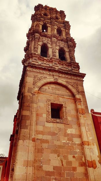 Tower Sky History Architecture No People Low Angle View Ancient Cloud - Sky Religion Medieval Ecclesiastic Church Ecclesiastical Architecture. EyeEmNewHere
