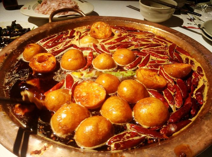 Hot pot with spicy food. Food Food And Drink Healthy Eating Ready-to-eat Relaxing Taking Photos Guiyang Guizhou Meat Food And Drink