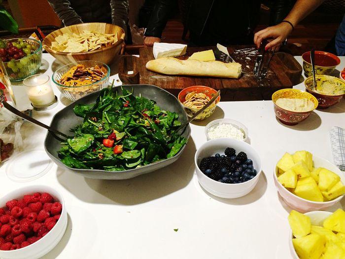 Variety of food in bowl
