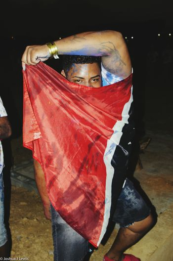 Trinidad And Tobago Carnival Jouvert ICandy Chaguanas Flag Red
