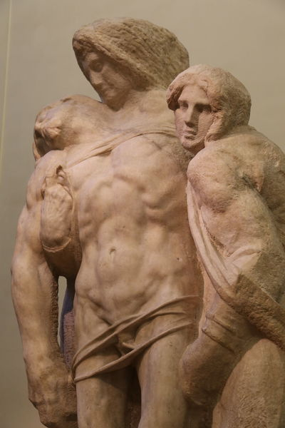 Florence Italy Accademia Art And Craft Day Human Representation Indoors  Male Likeness Michaelangelo No People Sculpture Statue