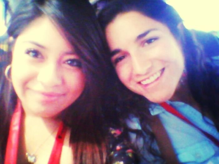 My new friend i made on the bus to texas tech (: