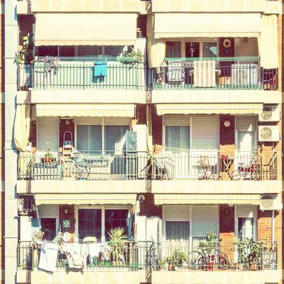 Life drawers | Cajones de vida Architecture Balconies Straightfacade Enjoying Life