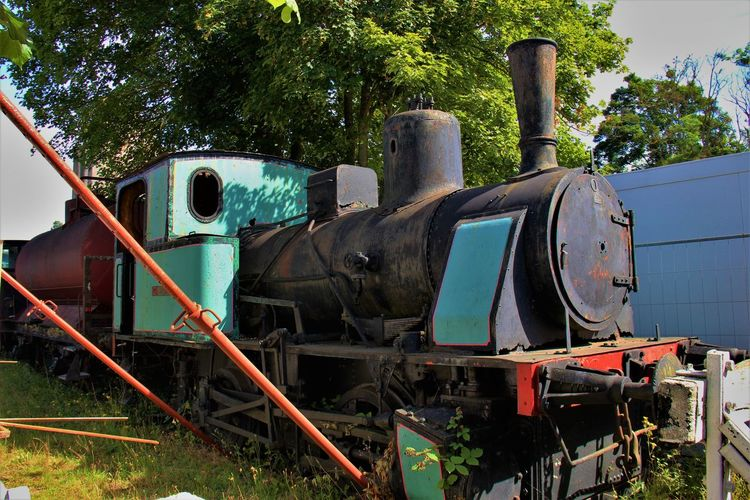 Normandie Normandie, France Abandoned History Locomotive No People Outdoors Steam Locomotive Steam Train Tree