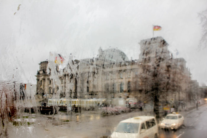 Rain In The City Your Ticket To Europe Architecture Building Exterior Built Structure City City Tour Cold Temperature Glass Reflection No People Outdoors Rain Day Rainy Day Reichstag Road Transportation Water Winter