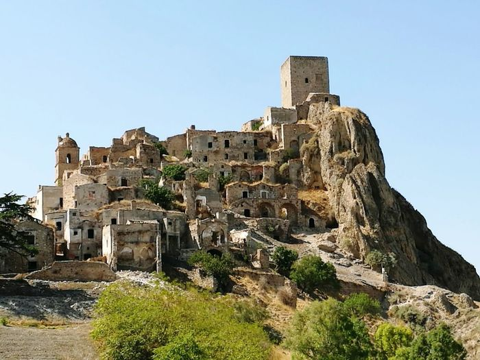 Craco Basilicata, Italy  Old Ruin History Ancient Day Clear Sky No People The Past Nature Beauty In Nature Landscape Italianlandscape Outdoors