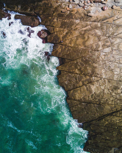 A drone shot of crazy patterns that are formed through the rocks south of Sydney. Can you spot the person? Aerial Shot Australia Australian Landscape Drone  Eye Em Nature Lover Lost In The Landscape Adventure Aerial Aerial View Australia & Travel Australian Photographers Dronephotography Outdoors Rock - Object Sea Water Waterfront Week On Eyeem Fresh on Market 2017 Perspectives On Nature Go Higher The Great Outdoors - 2018 EyeEm Awards The Traveler - 2018 EyeEm Awards The Architect - 2018 EyeEm Awards A New Beginning A New Perspective On Life Capture Tomorrow