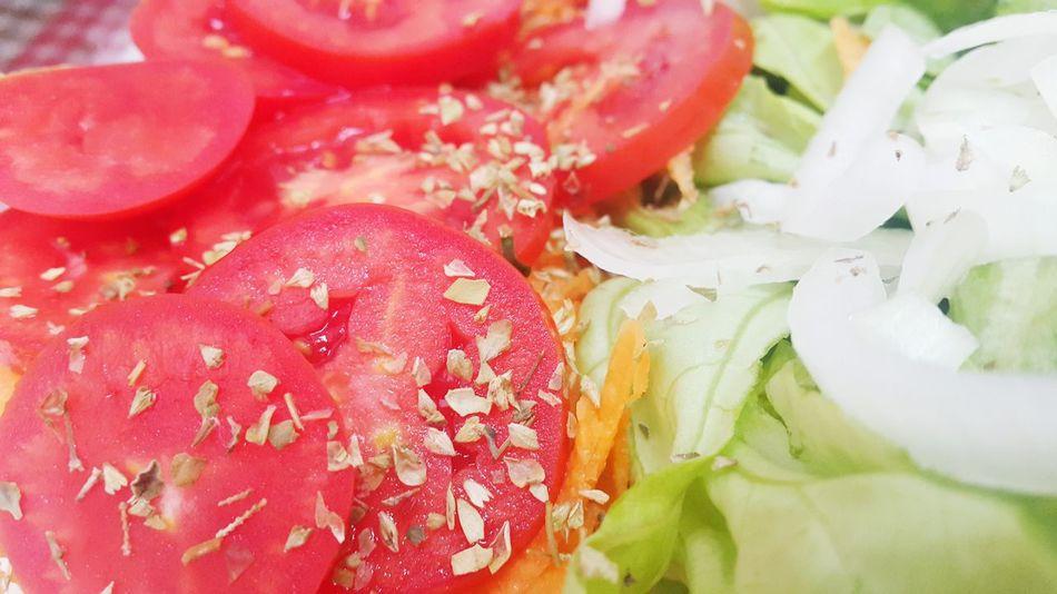 Salada Tomate Salad Tomato Onion Cebolas Alface Food