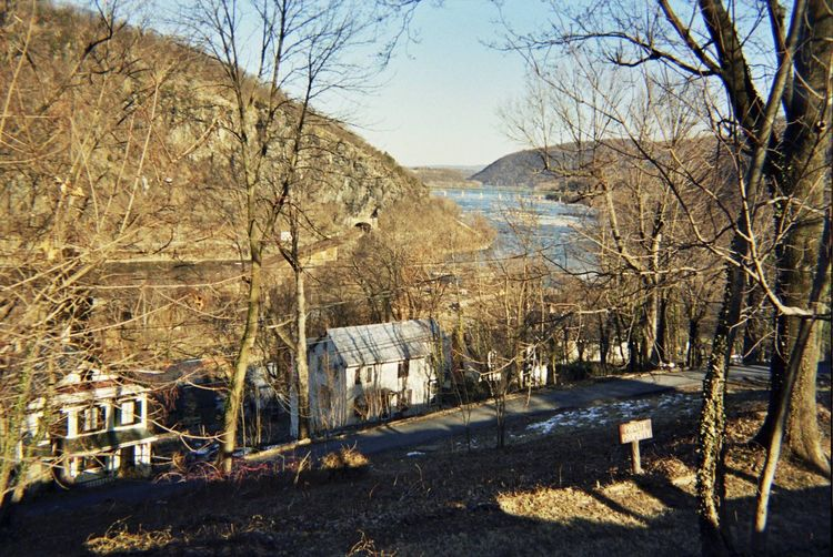 Harpers Ferry Potomac River Adapted To The City Historical Place