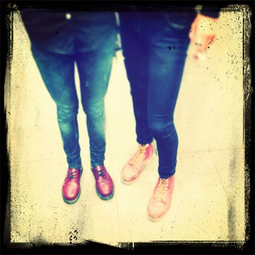 Dr Martens/red Wing