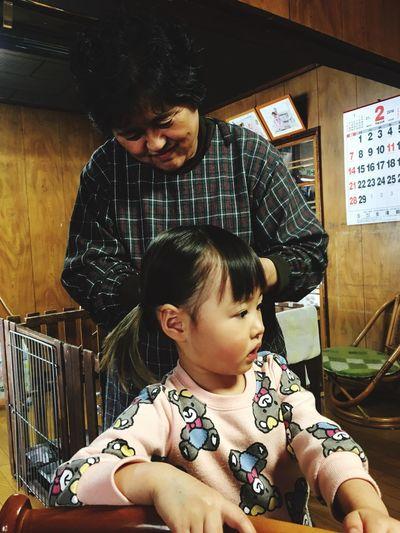 鬼の襲来に備えて気合い入れてるらしい。 節分 家族 Iwate Japan IPhoneography IPhone Eyeemphotography EyeEm Gallery EyeEm EyeEmBestPics EyeEm Nature Lover EyeEm Best Shots Eye4photography