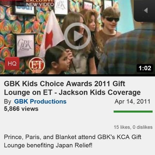 We are the worlds best event agency! Gbkproductions Michaeljackson Jacksonkids Princejackson Parisjackson Blanketjackson Entertainmenttonight ET Yrflifestyle