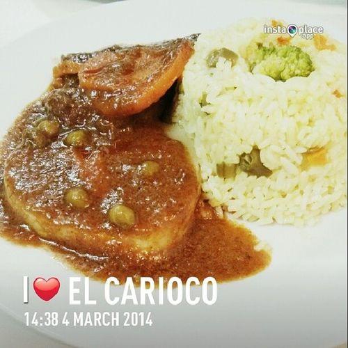 Boy gotta eat! | Lunch Lunchtime Tuesday Foodporn Estofado Carne PeruvianFood PeruvianCuisine SanBorja Lima