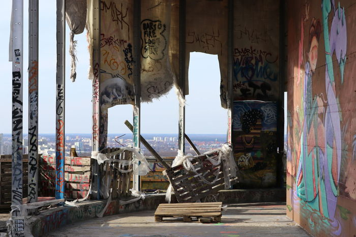 Abhörstation Teufelsberg Architecture Berlin Built Structure Cold War Day Graffiti No People NSA Station Berlin Ruine Ruined Teufelsberg EyeEmNewHere The Architect - 2017 EyeEm Awards