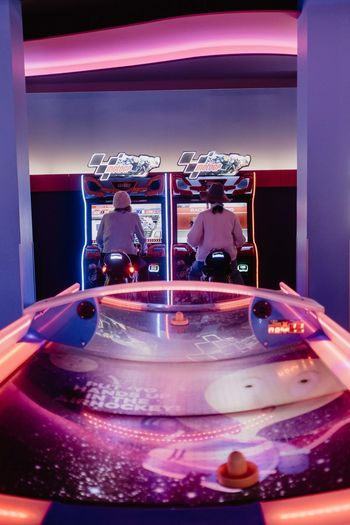 Indoors  Illuminated Technology Arts Culture And Entertainment Record No People Close-up Music Turntable Transparent Glass - Material Night Enjoyment Purple Spinning Celebration Reflection Equipment Nightlife Arcade Arcade Games Gambling Hall Amusement Archade Penny Arcade Utrecht