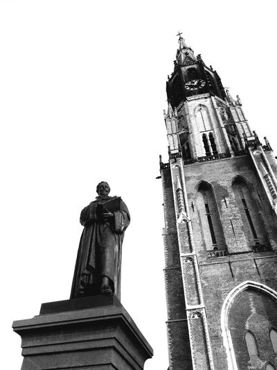 The continuation of my favourite Dutch City - Delft Delftse Hout Delft , Netherland. Cityscapes Nieuwe Kerk Kerk Old Dutch Church Church Royal Holland Holland❤ Statue Monument