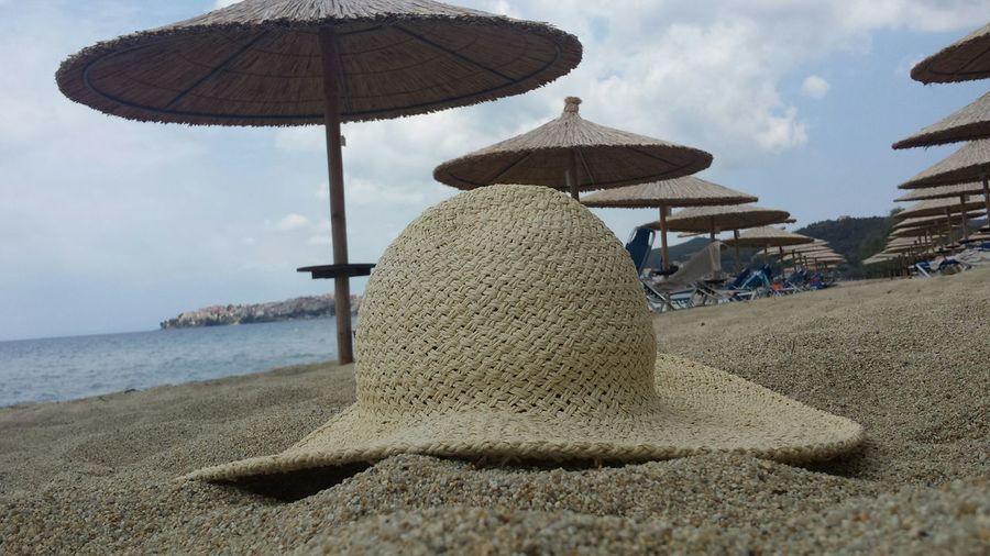 With Bae Hat On The Beach In Love Greece Grecia Portocarras Summer Beautifully Organized Lieblingsteil