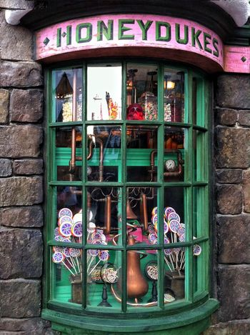 Time for something sweet. WizardingworldofHarryPotter Candyshop Candy Shot On IPhone 6s