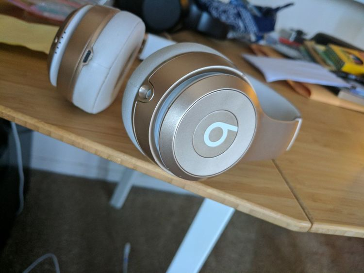 No People Close-up Indoors  Beats By Dre Music Headphones Gold Loud Sound