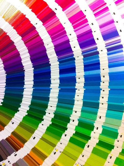 Multi Colored Vibrant Color Colorful Swatch Swatchbook Graphic Design Abstract Graphic Designer Art No People