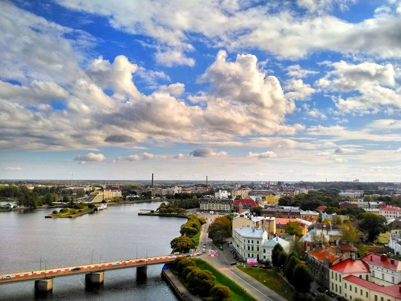 Cloud - Sky High Angle View Cityscape Horizon Over Water Sky City Architecture Outdoors Sea Water Building Exterior No People Travel Destinations Aerial View Waterfront Harbor Day Sunset Nautical Vessel Panoramic Travel Cityscape Popular Photos Urbanphotography Urban Geometry