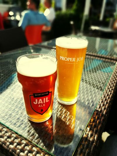 Two Is Better Than One Ale Jail Ale ProperJob Relaxing Drink Beer Glass Beer - Alcohol Beverage