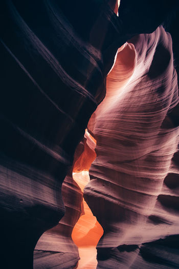Antelope Canyon Beauty Beauty In Nature Canyon Cave Cliff Geology Nature No People Rock Formation Sandstone USAtrip Perspectives On Nature The Great Outdoors - 2018 EyeEm Awards