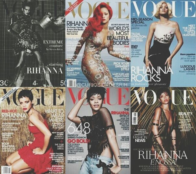 when will yo fave? Vogue Rihanna Badgalriri Covergirl