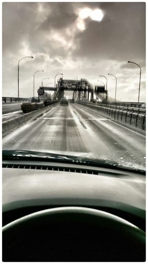 Driving Auckland Harbour Bridge The View From Here The View From My Window 2015 05 24