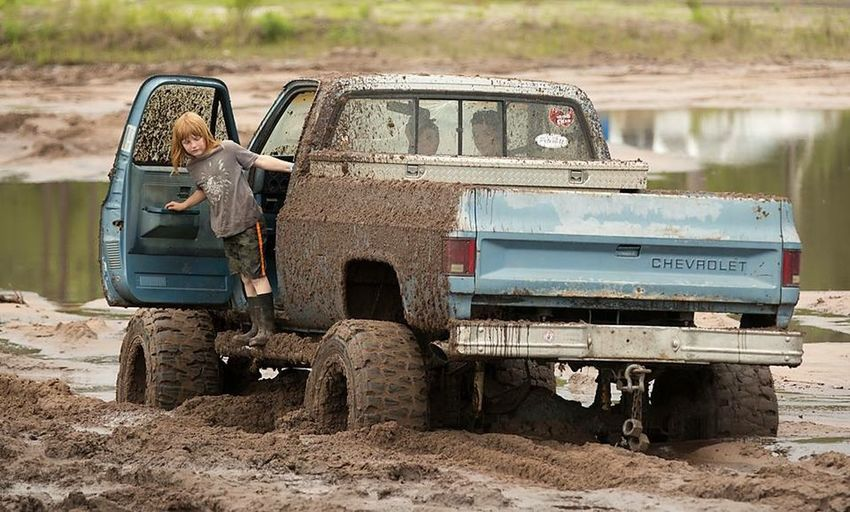 Mud Bogg!!(: Muddy Playing Childhood Memories Childhoodunplugged Truck Lets Get Dirty Chevy