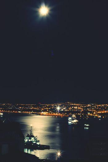Cities At Night Cochitul Valparaíso Chile Chilegram Valpogram Streetphotography