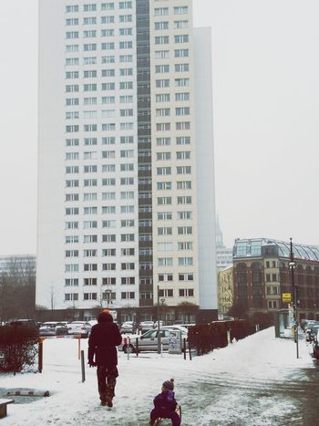 Wintertime Cold Days City Streets  Berlin Street Photography Streetphotography Monocromatic White On White