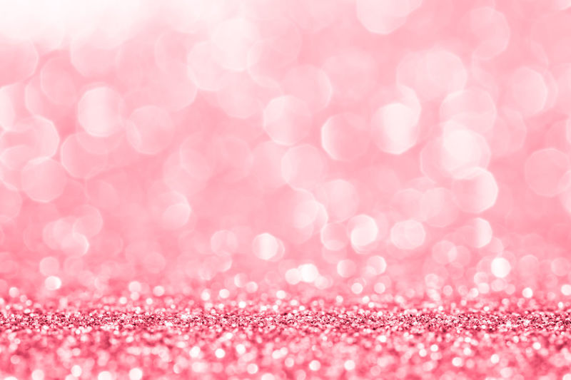 Pink Abstract Backgrounds Blur Bokeh Bright Brightly Lit Celebration Close-up Copy Space Decoration Defocused Event Glitter Holiday Nature No People Ornate Pattern Pink Color Selective Focus Shiny Softness Textured  Valentine's Day - Holiday