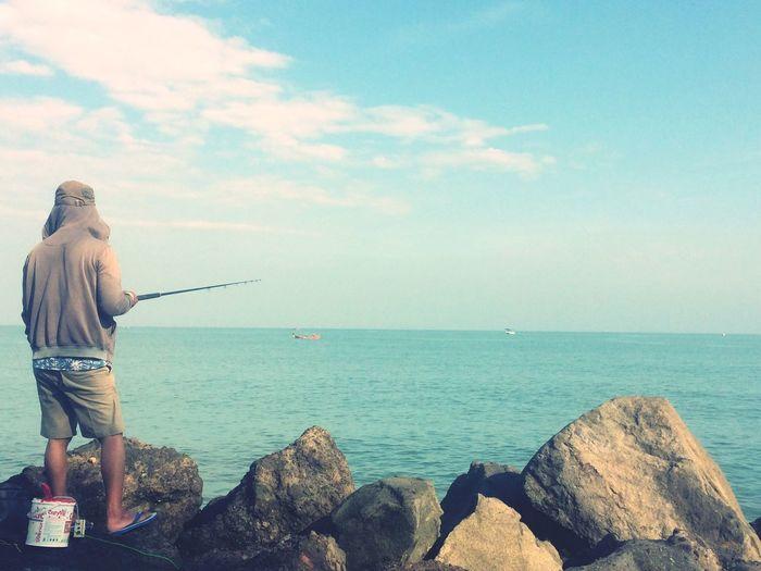 Find a treasure Fishing Pantaimarina Semarang Accoustick